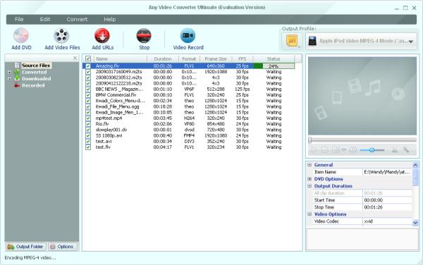 Any Video Converter Ultimate 5.6.2,Chuyển đổi Video đa năng,chỉnh sửa Video,chèn watermark cho Video