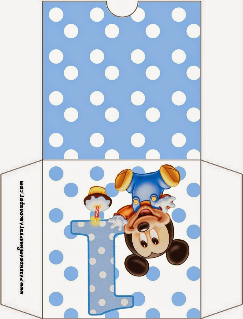 CD Case First Year of Mickey with Polka Dots.