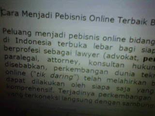 Cara Praktis Menjadi Pebisnis Online Terbaik di Bidang Jasa Layanan Hukum Oleh Kantor Pengacara Indonesia