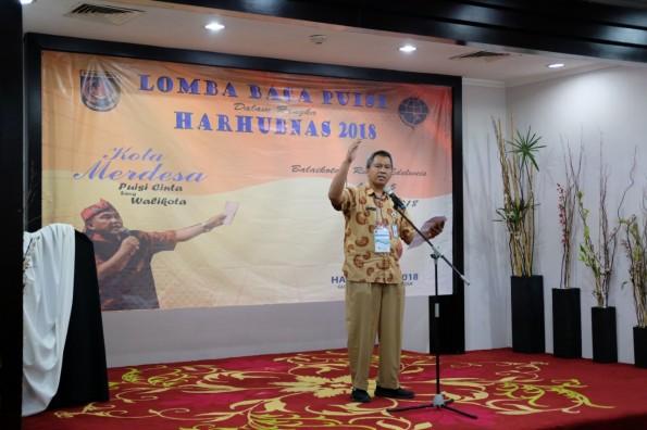 Peringati Harhubnas, Dishub Kota Depok Gelar Lomba Baca Puisi