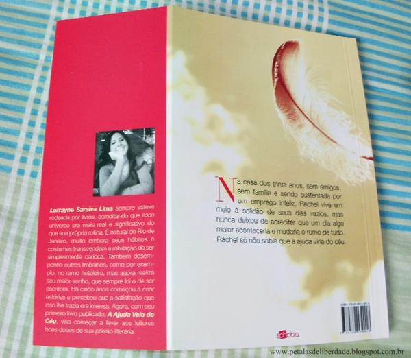 Resenha, livro, A ajuda veio do céu, Lorrayne Saraiva Lima, Schoba, anjos, quotes, trechos, sinopse