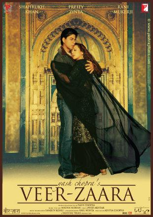 Veer-Zaara 2004 Full Hindi Free 720pHD Bollywood Movie Download