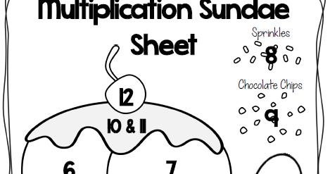 Ginger Snaps: Multiplication Freebie