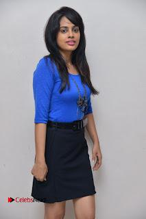 Actress Nandita Swetha Stills in Black Mini Skirt at Ekkadiki Potavu Chinnavada Movie Special Show  0014.JPG
