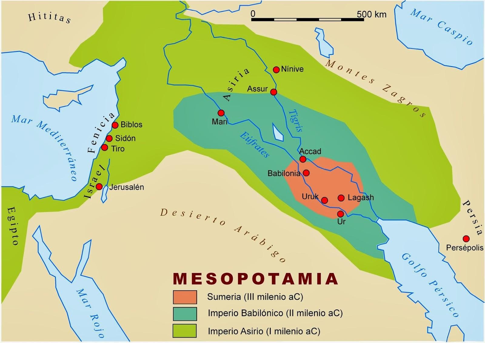 Profesor de Historia, Geografía y Arte: Mapas de las primeras ...