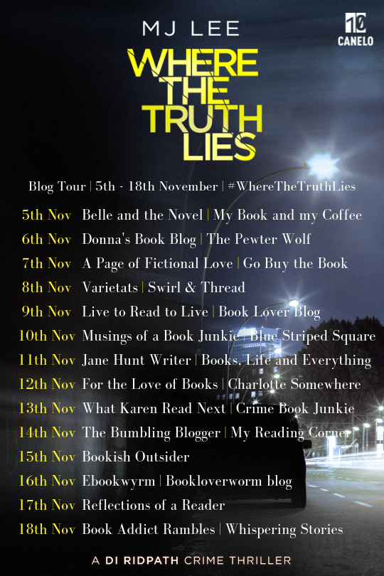Where The Truth Lies Blog Tour 2018
