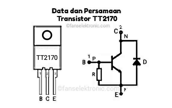 Persamaan Transistor TT2170