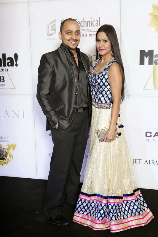 Ritchie Thomas and Nadia Siddiqui, Masala! Awards 2014 Photo Gallery