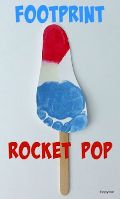 Footprint Rocket Pop