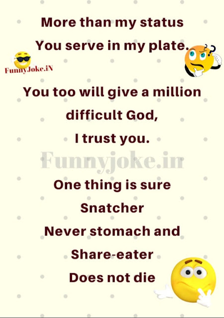 More than my status You serve in my plate.