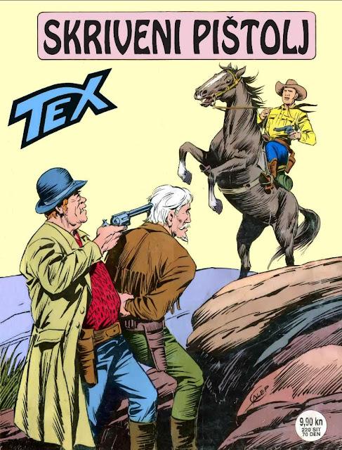 Skriveni Pistolj - SD - Tex Willer