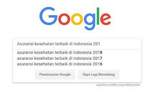 Riset kata kunci penelusuran google