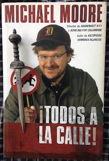 Portada del libro ¡Todos a la calle!, de Michael Moore