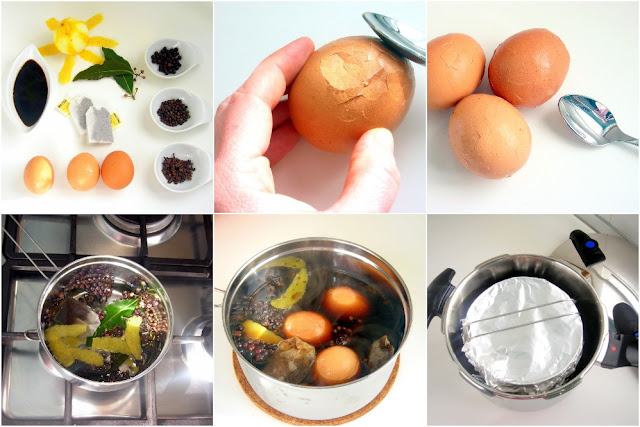 pressure cooker chinese tea eggs