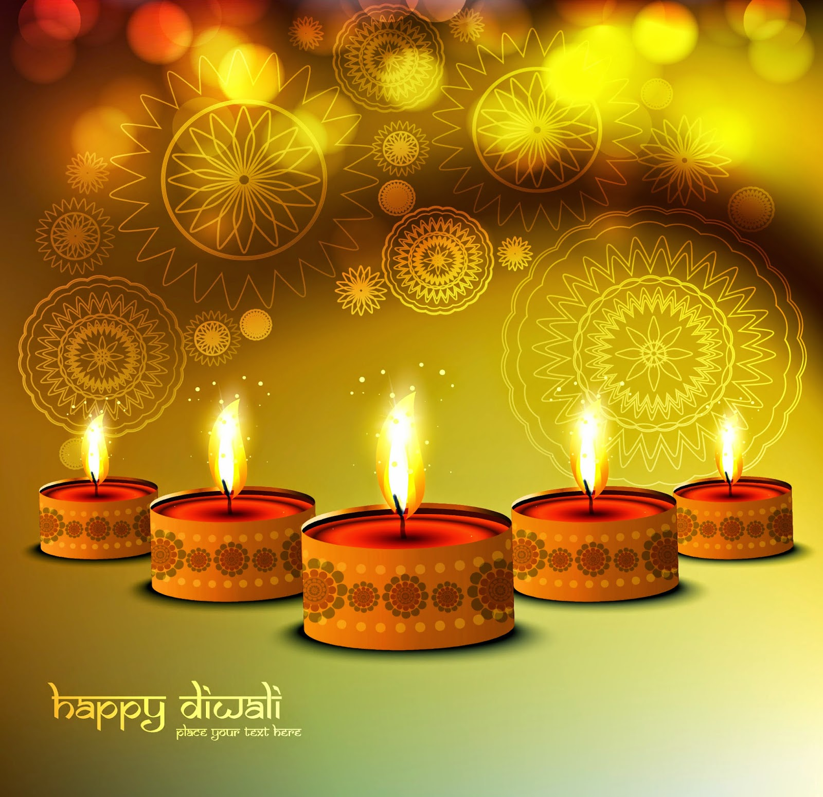 Happy diwali vector collection | naveengfx