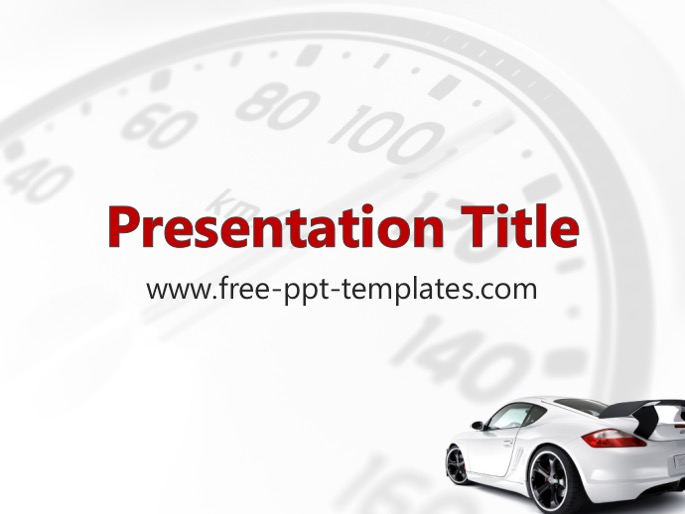 car ppt template