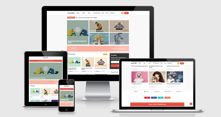 Asal Seo Blogger Template Free Download