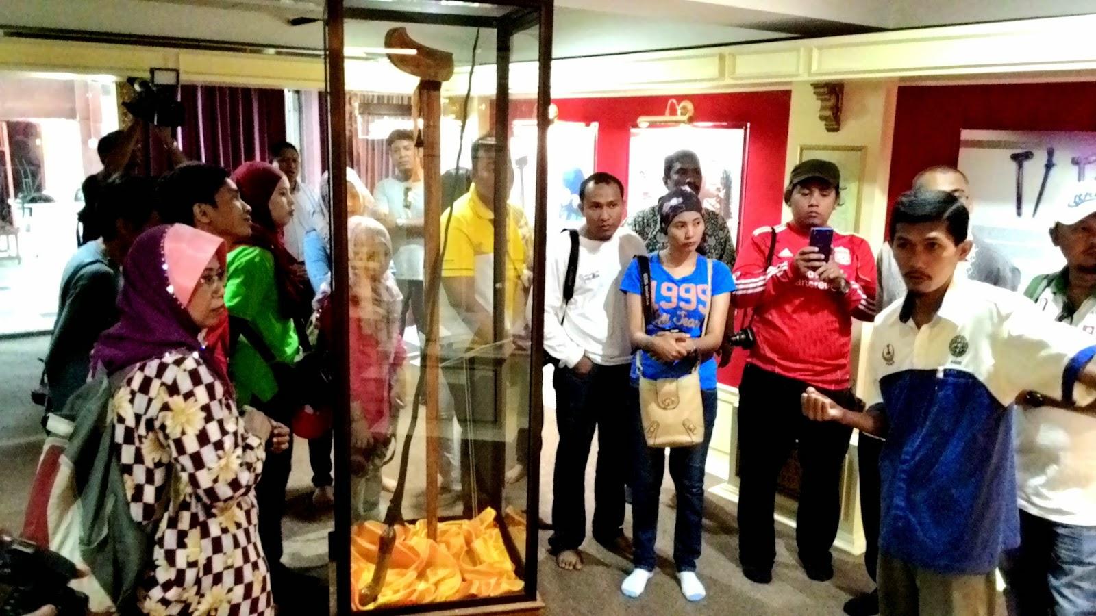Terowong Sejarah Pasir Salak, Mohd Fauzi Mohd Razali, Penolong Kurator