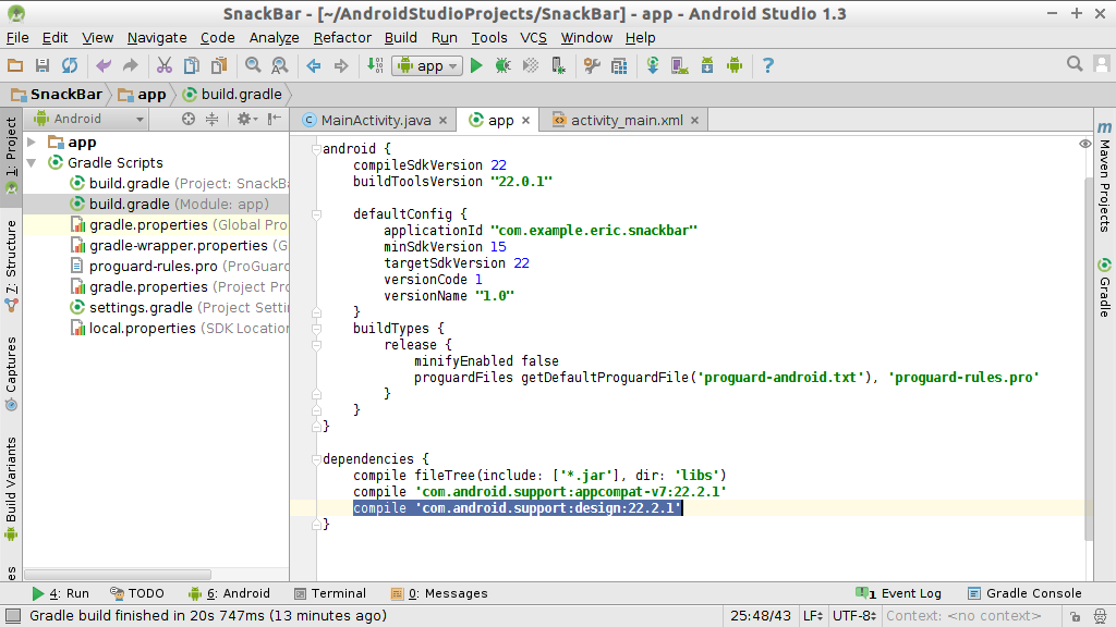 Android Studio Support