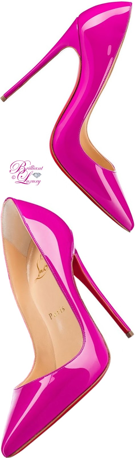 Brilliant Luxury ♦ Christian Louboutin So Kate pump