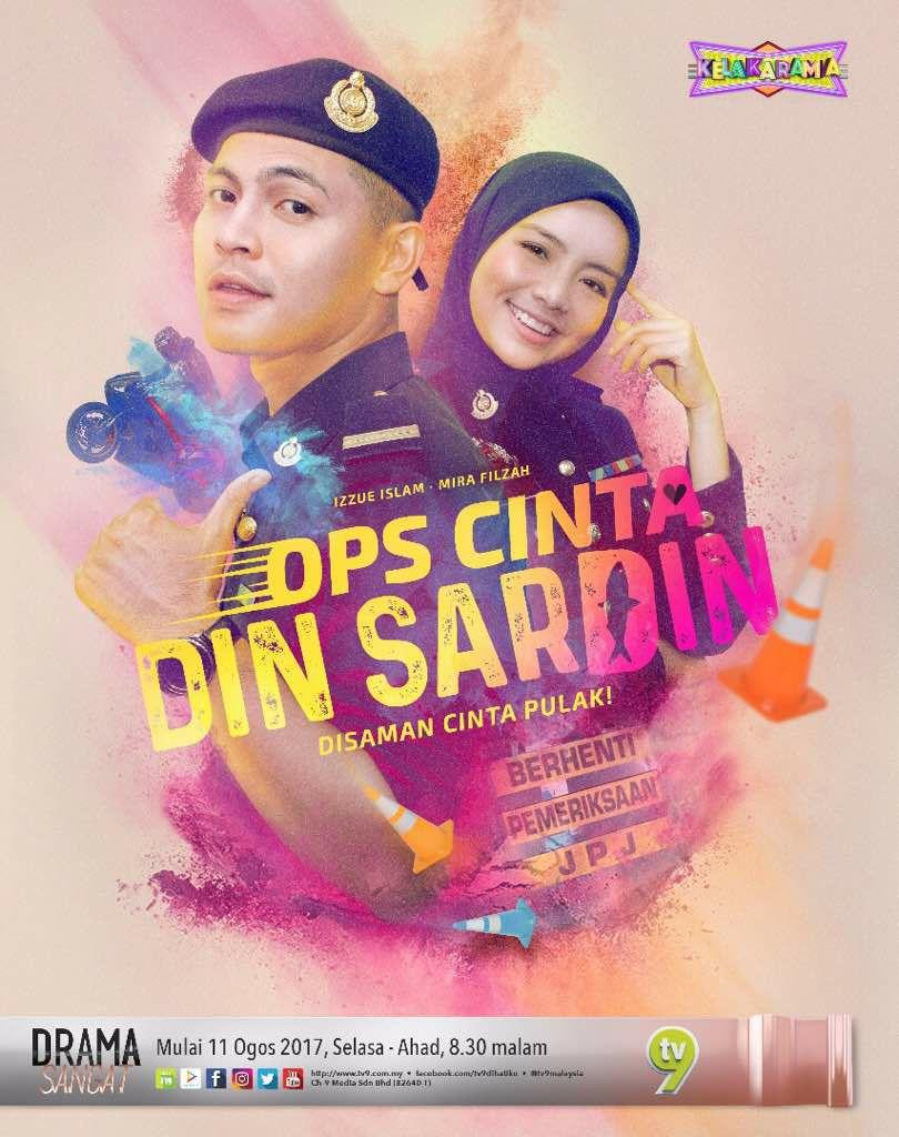 Drama Ops Cinta Din Sardin (2017) TV9