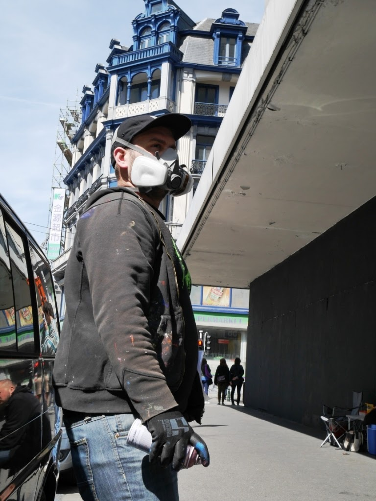 Klaas Van der Linden - graffiti