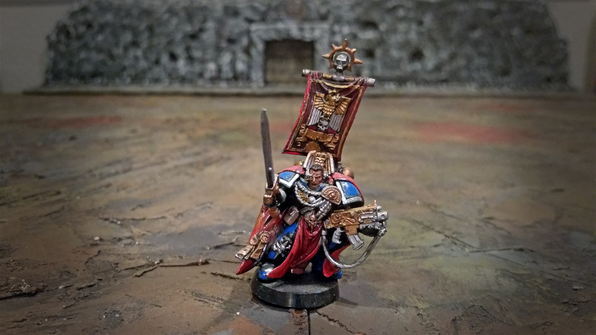 space marines leader