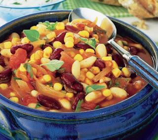 Corn and Two Bean Chili Recipe