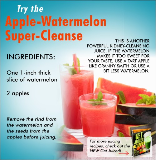 Apple And Watermelon Cleanse Recipe For Kidneys