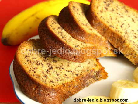 Banánová bábovka - recepty