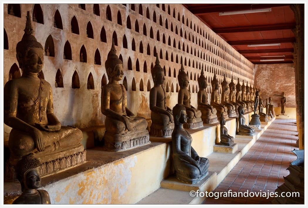 Wat Si Saket en Vientiane, Laos
