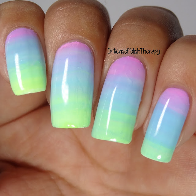 Purple, Blue & Green Gradient