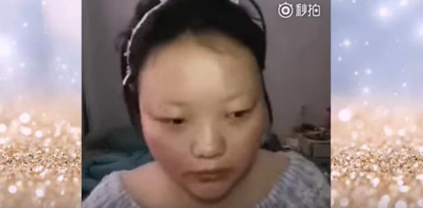 فتاة صينية تقوم بتغيير ملامحها 180 درجة باستخدام الميكياج وتسبب ذهول لمتابعيها