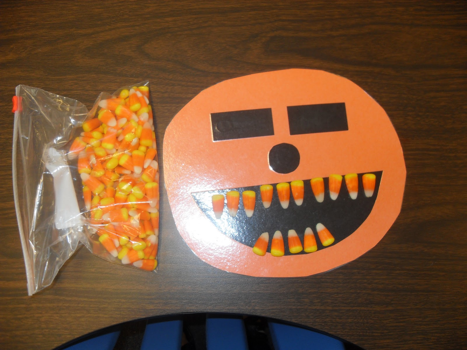 Sassy In Second Candy Corn Teeth Math Facts