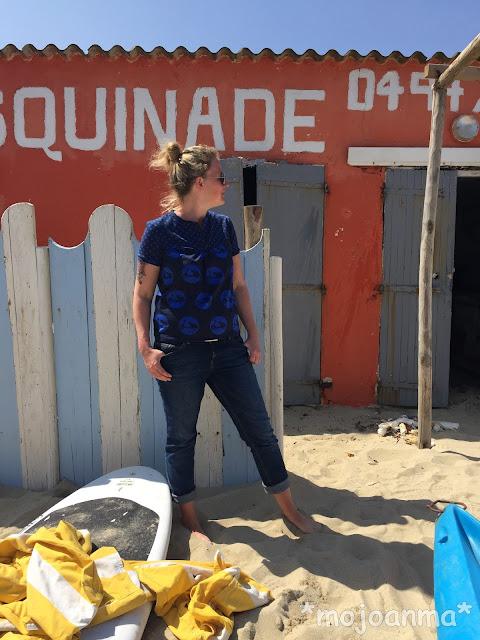 kreativlabor berlin, vespa, blau, strand, cote d'Azur