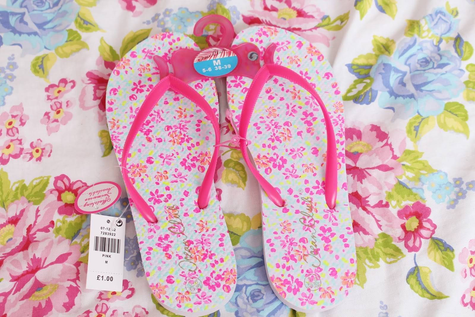 Summer Primark Haul April 2014 Floral Flip Flops