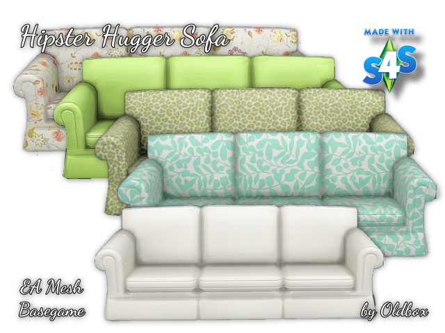 Hipster Hugger Sofa And Dining Chair Recolors By Oldbox