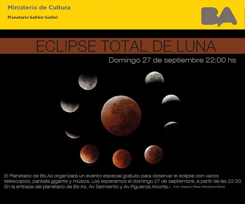 27 de agosto: Eclipse Total de Luna | KosmosLogos