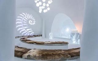 Vẻ đẹp ấn tượng bên trong khách sạn băng giá ở Thụy Điển 11