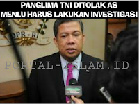 TAJAM! Cium Adanya Agenda Lain di Balik Penolakan Panglima TNI oleh AS, Fahri Hamzah: Menlu HARUS Investiigasi