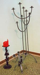 #ausgeMÄRZt - 02 - Kerzenständer