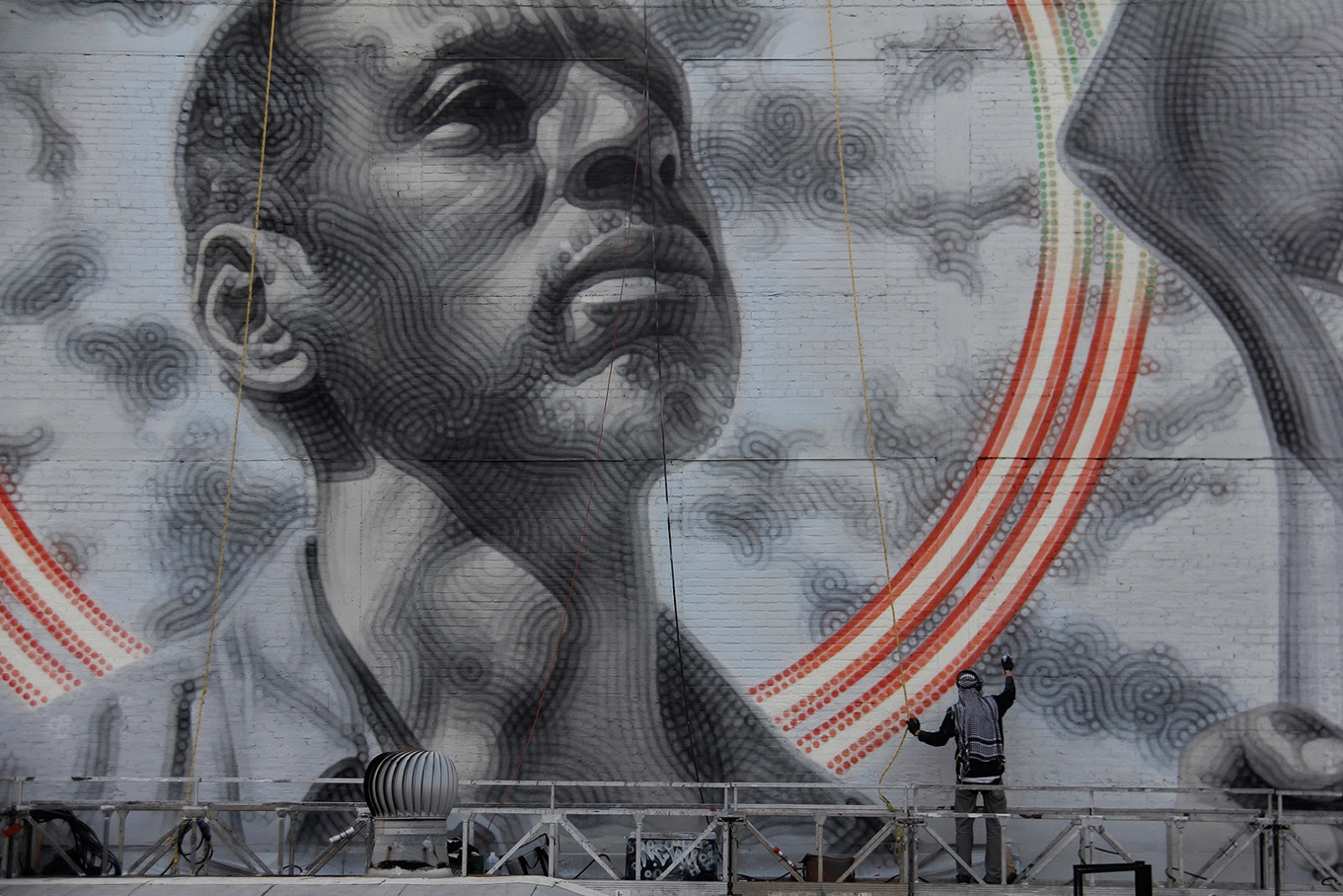 MAC ART: New Murals in Los Angeles: 'Shared Roots (Unity