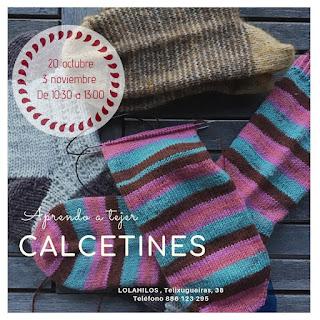 Aprendo a tejer CALCETINES con LolaHilos