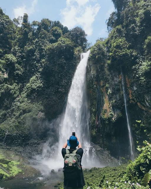 Tri Muara Karang Waterfall