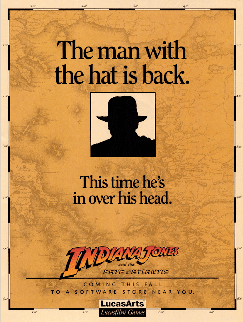 indiana jones fate of atlantis ad