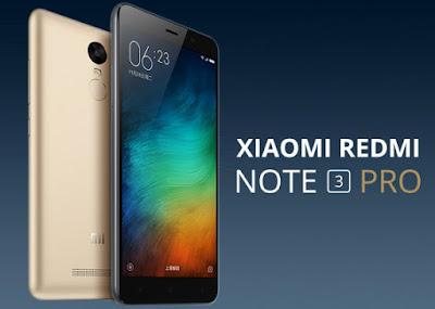 Harga dan Spesifikasi Lengkap Redmi Note 3 Pro Terbaru