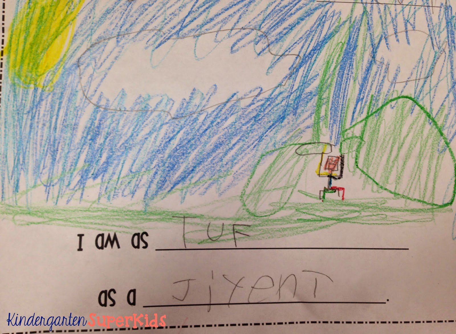 Kindergarten Superkids Fish Frenzy Literacy Resources A Rainbow Fish Freebie