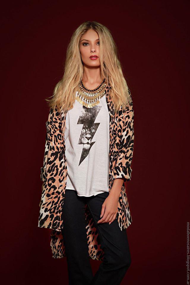 Sacos de moda invierno 2016 ropa de mujer Sophya.