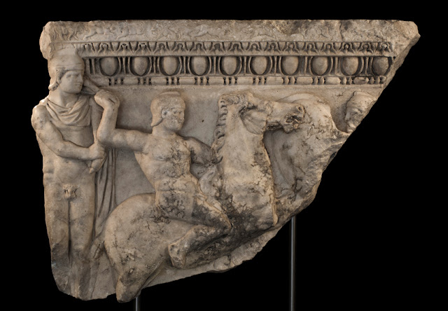 Stolen sarcophagus identified in New York gallery