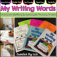 Student Spelling Dictionaries and Interactive Spelling Activities